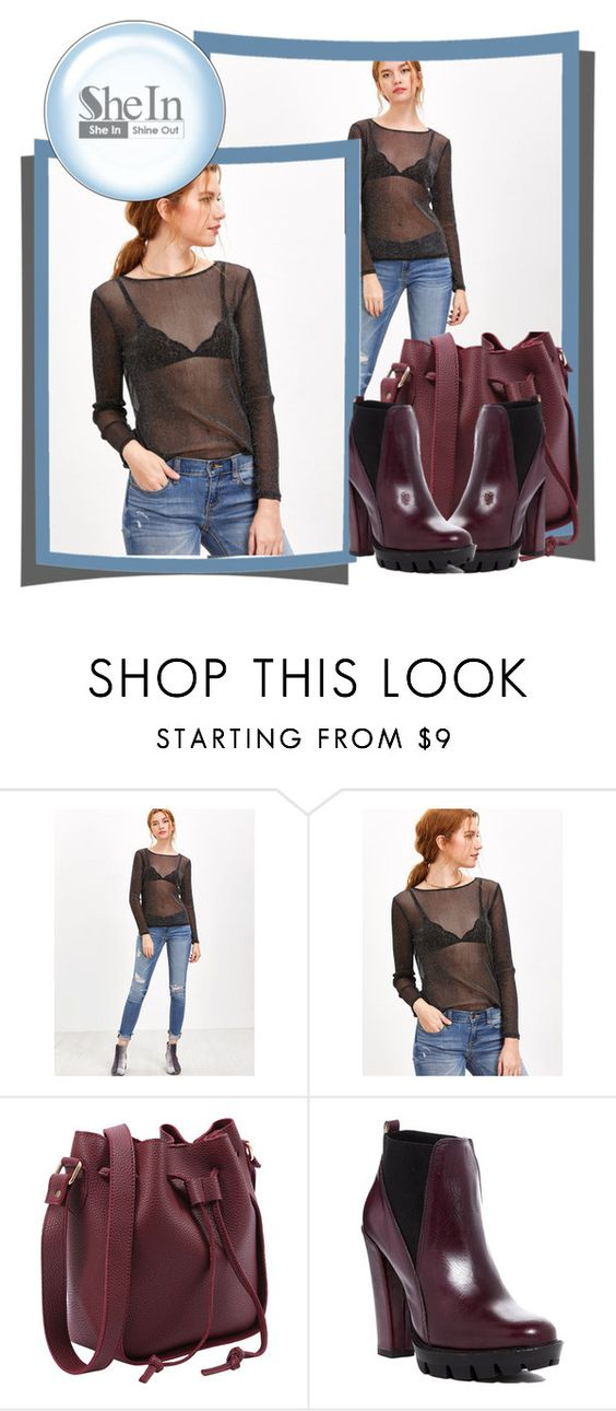 """""""Shein  - contest"""" by flora-812 ❤ liked on Polyvore featuring Charles David"""
