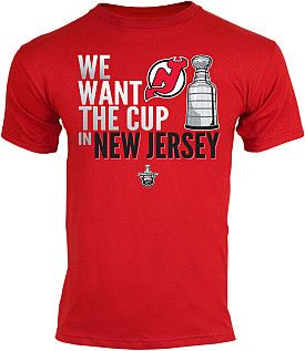 We Want The Cup in New Jersey T-Shirt
