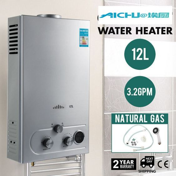 12l Lng 3 2gpm 24kw Tankless Instant Boiler Wall Mounted On Demand Liquefied Natural Gas Water Heater