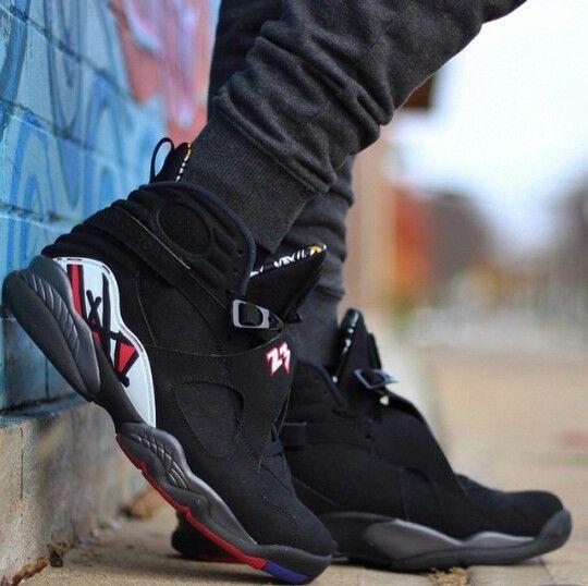 Air Jordan 8 Playoffs   Mens fashion casual shoes, Shoes sneakers ...