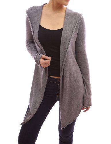 Patty Women Comfy Long Sleeve Hooded Asym Hem Sweatercoat Knit Cardigan Jumper (Grey S) Patty,http://www.amazon.com/dp/B009328QD4/ref=cm_sw_r_pi_dp_C6mssb01VKGZ4MQT