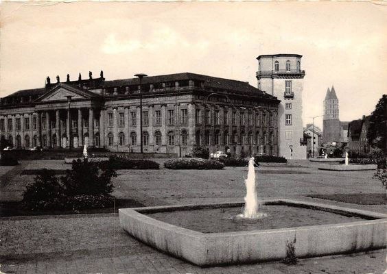 Fredericianum und Zwehrener Turm