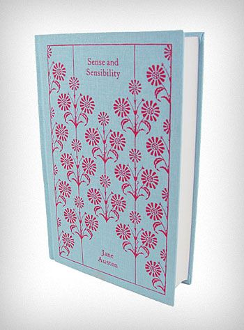 *Wish List*  Fabric Bound Classic Novel: Sense and Sensibility by Jane Austen