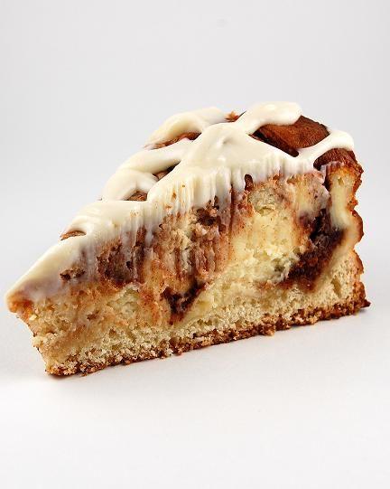 Cinnamon ROLL CHEESECAKE. humm... calorie overload?