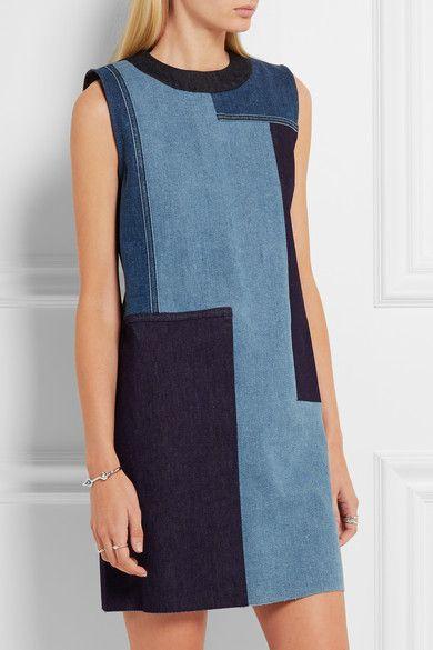 Sewing inspo: Victoria, Victoria Beckham patchwork dress: