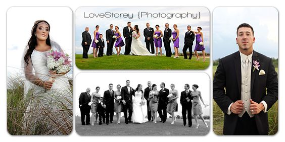 bridal party-  A picture is worth a thousand words…. Then ours tells the whole story.  LoveStorey {Photography}