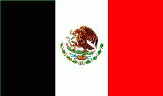 Negro, Blanco y Rojo los nuevos colores patrios de México