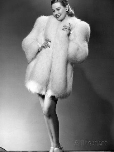 Glamorous Woman in Fur Coat | Fur