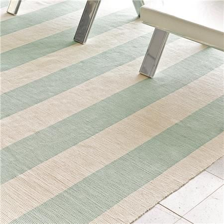 Wide Stripe Flat Weave Rug: 5 Colors--rugs are pretty well priced on the site.