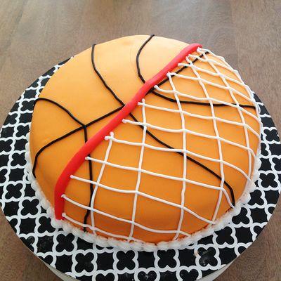 basketball kuchen backen