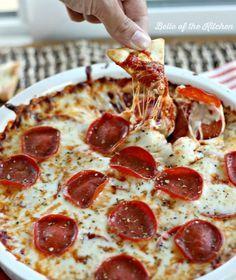 Waarom wisten wij hier bestaan niet van af?! Warm PIZZA DIP recept voor tijdens een feestje! - Zelfmaak ideetjes