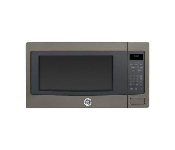 Ge Countertop Microwave In Slate : GE - Profile Series 2.2 Cu. Ft. Full-Size Microwave - Slate - Larger ...