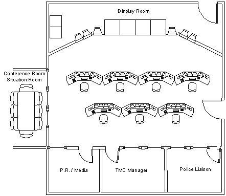 Eoc floor plan emergency management pinterest floor plans and floors for Emergency room design floor plan