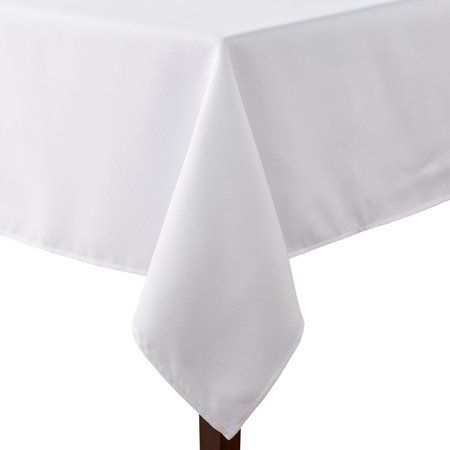 Mainstays Fraser Fabric Tablecloth 60 W X 102 L Arctic White Available In Multiple Colors And Sizes Walmart Com Tablecloth Fabric Table Cloth Mainstays