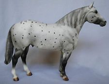 Breyer Adios Appaloosa TEST/BF 1995 from Collection of Black Horse Ranch