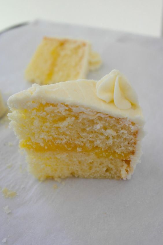 ... with Lemon Curd Filling | Lemon Cakes, Lemon and Cream Cheese Frosting