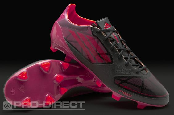 adidas Football Boots - adidas F50 adizero Graphic TRX FG - Firm Ground - Soccer Cleats - Black-Infrared-Pink