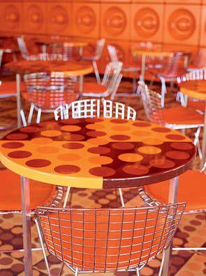 SPIEGEL canteen in Hamburg; photo: Michael Bernhardi/Spiegel Verlag