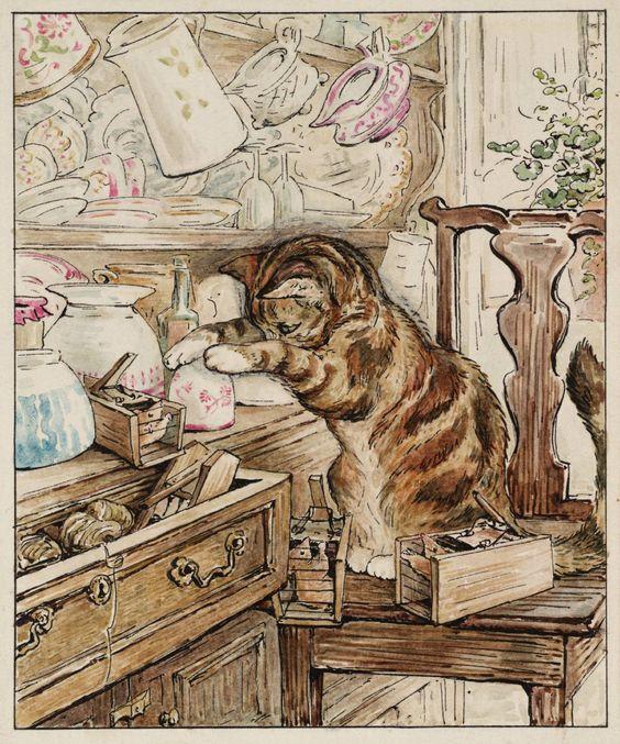 """Art Print - 8.5"""" x 11"""" - Instant Digital Download - Beatrix Potter Print - The…"""