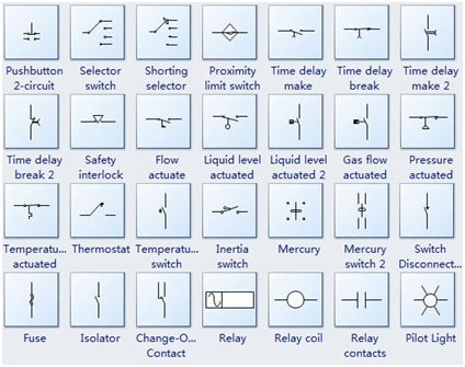 Electrical Schematic Symbols at a Glance Make Pinterest