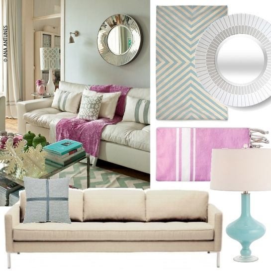 Love This Entire Room Mint And Lavender Great Combo