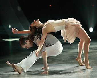 """Kathryn McCormick and Billy Bell dancing to """"Jar of Hearts ...  Kathryn McCormi..."""