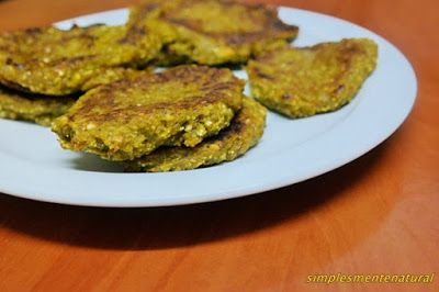 Simplesmente Natural: Hambúrgueres de legumes e trigo sarraceno