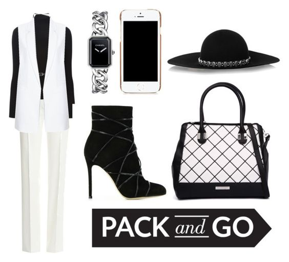 """""""Ms. Jackson"""" by vaniefontanilla on Polyvore featuring Emilio Pucci, Dsquared2, River Island, Chanel, Gianvito Rossi, Kardashian Kollection, Moschino, Yves Saint Laurent, women's clothing and women"""