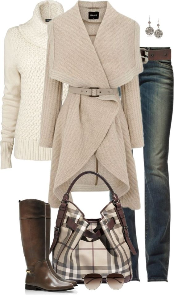 """Neutrals"" by partywithgatsby ❤ liked on Polyvore I'm looking at this, loving the look, and thinking...I'd roast in this outfit!:"