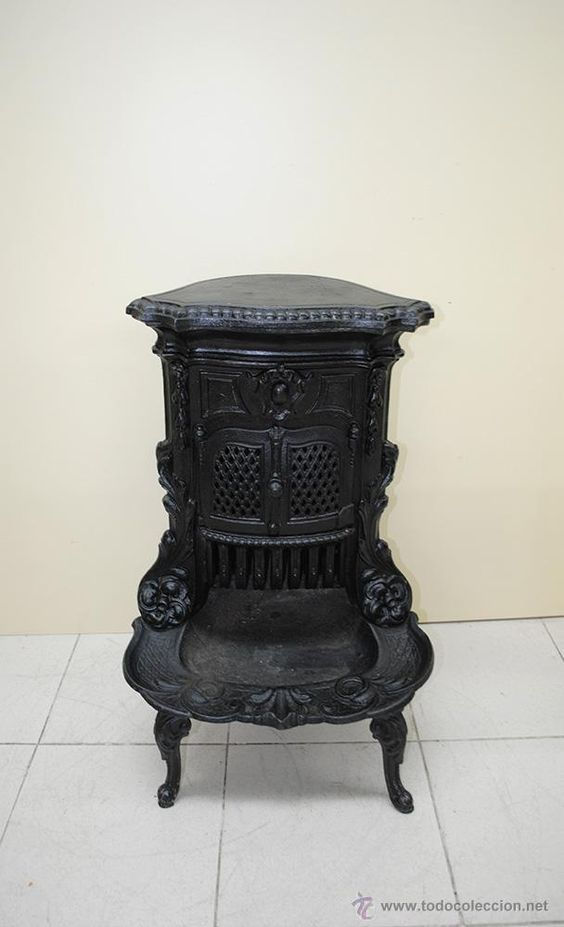 Estufa antigua antig edades t cnicas r sticas for Utensilios del hogar