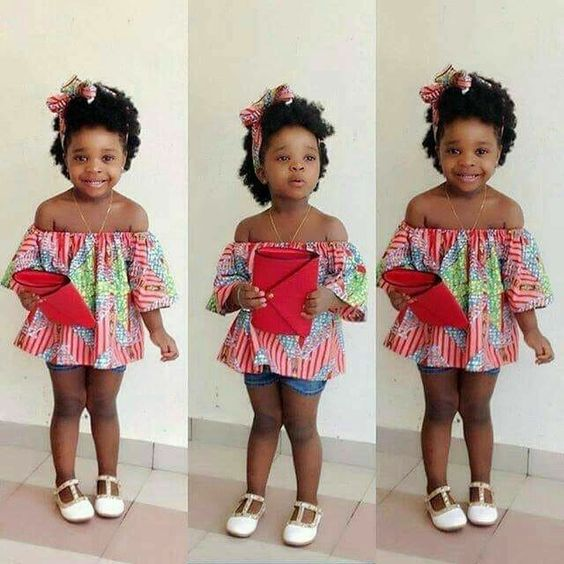 Latest Ankara Styles For Children