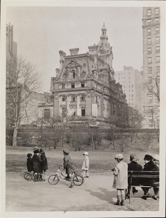 1905 .. 952 Fifth Ave. Gilded Age NYC ~ The William A. Clark Residence Demolition 1927