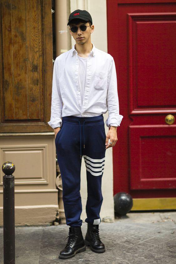 30代大人メンズはスウェットパンツでラグジュアリーストリートが似合う!