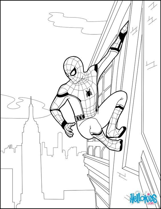 Spiderman Coloring Pages Homecoming Spiderman Coloring Superhero Coloring Pages Spiderman Craft