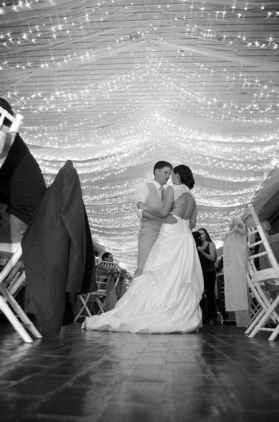 First dance #firstdance #truelove #reception #wedding #rustic #county #fall  #HughesMarseeWedding13