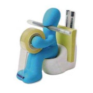 A fun art deco desk accessory. Want!