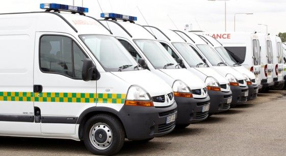 We have a dedicated fleet of ambulances and medicars - http://www.ersmedical.co.uk/service/non-emergency-patient-transport/