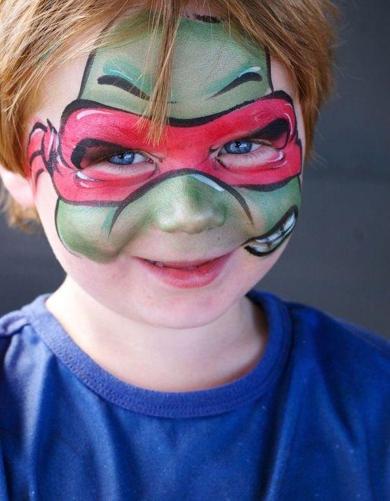 maquillage pour Halloween enfant simple : idées pour garçon