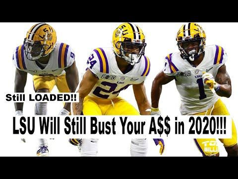 Crazy Lsu Gutted But Still Freakishly Loaded Youtube In 2020 Lsu Lsu Tigers Football Lsu Football
