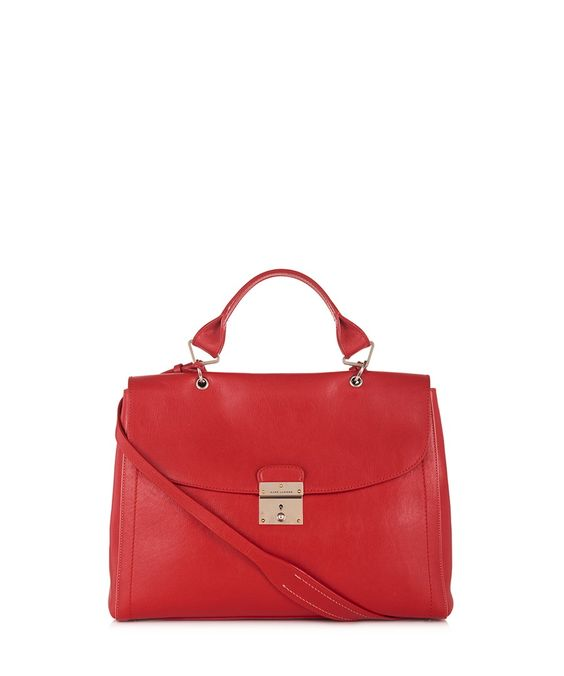 1984 red leather grab bag by Marc Jacobs on secretsales.com
