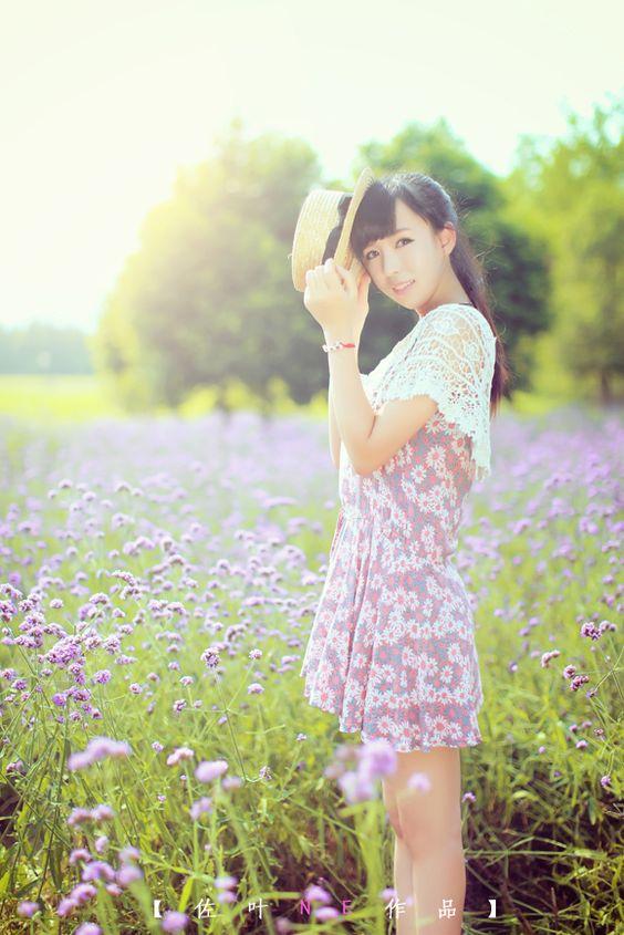 清纯美女:青春宛如夏花 | 妹子控