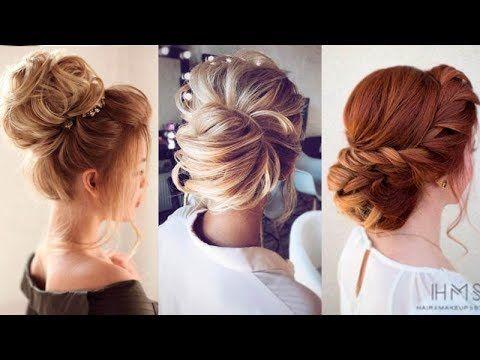 10 Easy Updo Hairstyles For Medium Length Hair In 2018 Hair Updo Ideas Youtube Medium Length Hair Styles Easy Updo Hairstyles Updos For Medium Length Hair