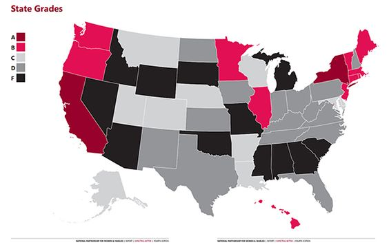 FMLA: Does your state make the 'grade'?