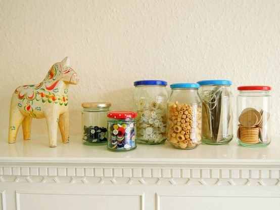 Storage : Jam Jars Covers