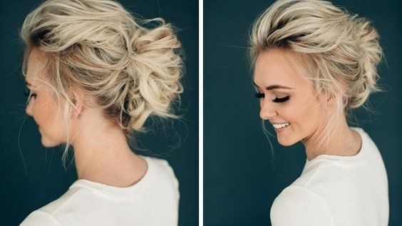 27 Short Hairstyles To Try In 2021 Short Wedding Hair Messy Wedding Hair Hair Styles