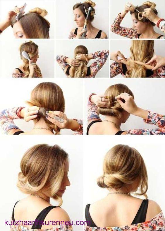 schöne frisuren für mittellanges haar | *-* | Pinterest