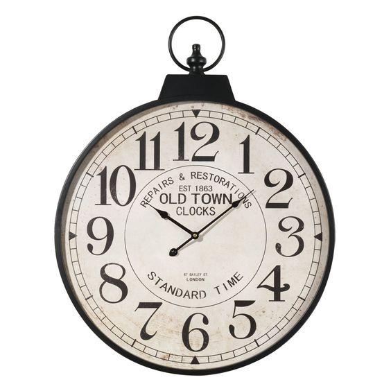 Vintage horloge and montres on pinterest - Horloge gousset murale ...