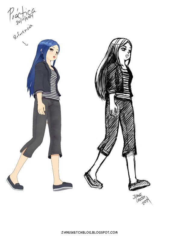Dibujo práctica de perspectiva #drawing #manga