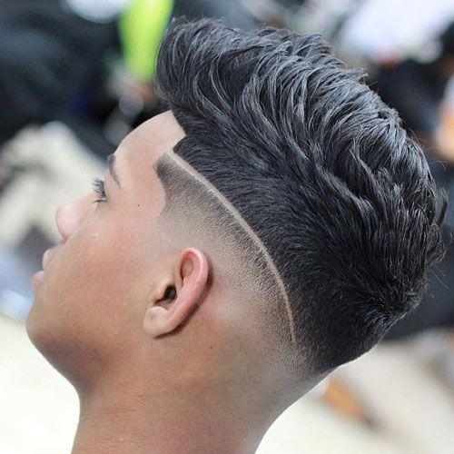 Skin fades haircuts