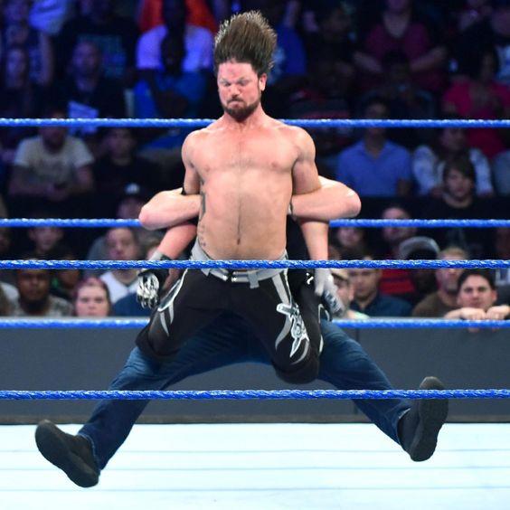 WWE World Champion Dean Ambrose vs. AJ Styles: Fotos